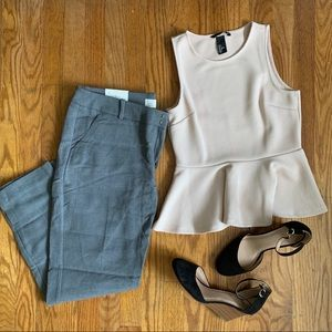 Cute H&M Business Casual top, size small